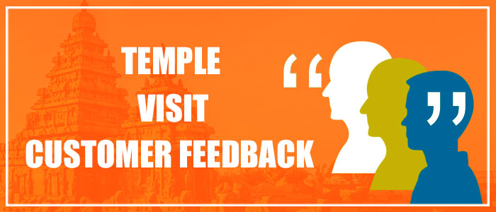 Temple Visit Customer Feedback