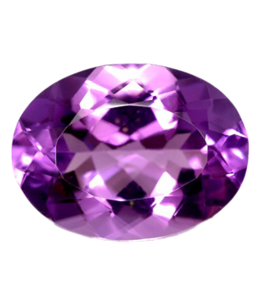Natural Amethyst 7-8 Carats Oval