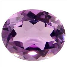 Natural Amethyst 8-9 Carats Oval