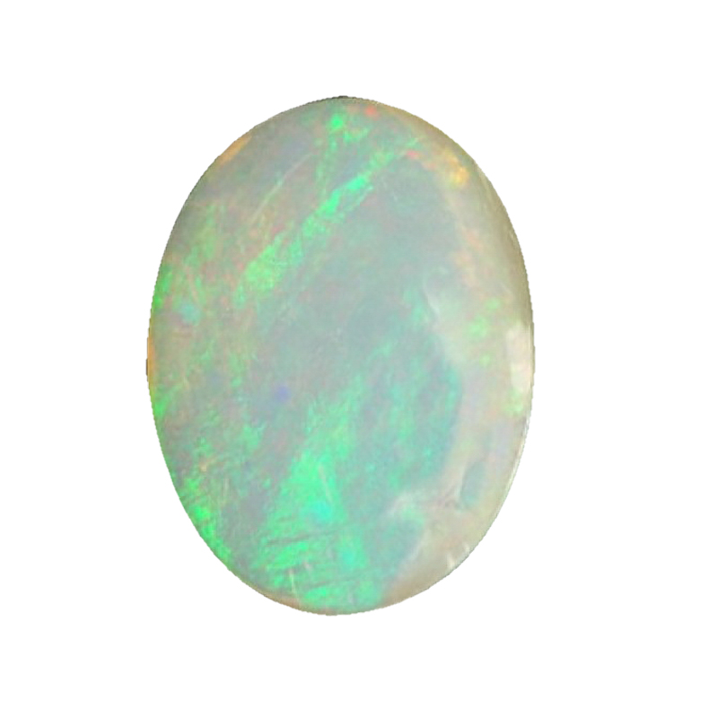 Natural Opal Gemstone 7-8 Carats Oval