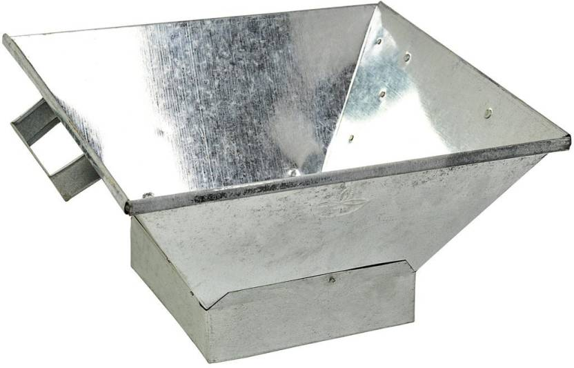 Havan Kund In Aluminium With Base Medium