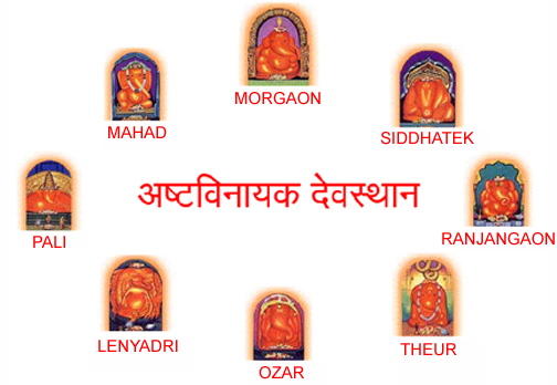 All 8 Ashtavinayaka Temples Puja Package Maharashtra