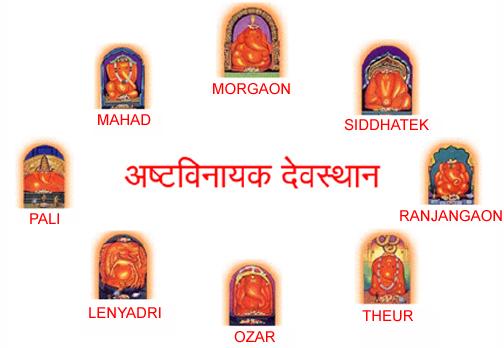 All 8 Ashtavinayaka Temples Puja Package Maharashtra