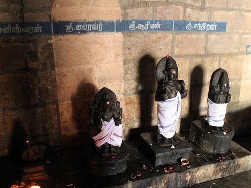 Shukra Bhagawan Temple (Venus)-Kanjanoor, TamilNadu