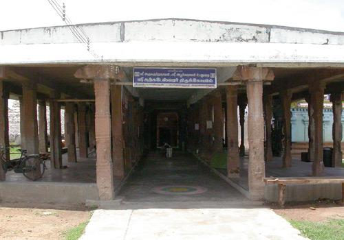 Sri Karkata Sannadhi(Crab/Kadaka/Karkata)-Karkadeshwarar