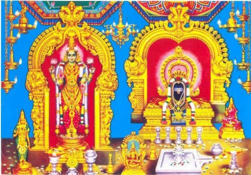 Parvatavardhini/Malaivalarkadali Devi Sannadhi-Rameshwaram