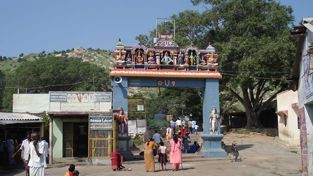 Sholinghur Yoga Anjaneyar Hanuman Temple