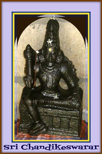Sri Chandikeshwarar Sannadhi-Gaathra Sundareshwarar Temple