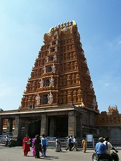 Sri Parvathi Ammanavara Sannadhi-Nanjangud Srikanteshwara