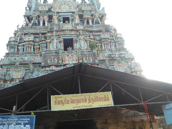 Surya Bhagawan Temple (Sun)-Suryanaar Kovil