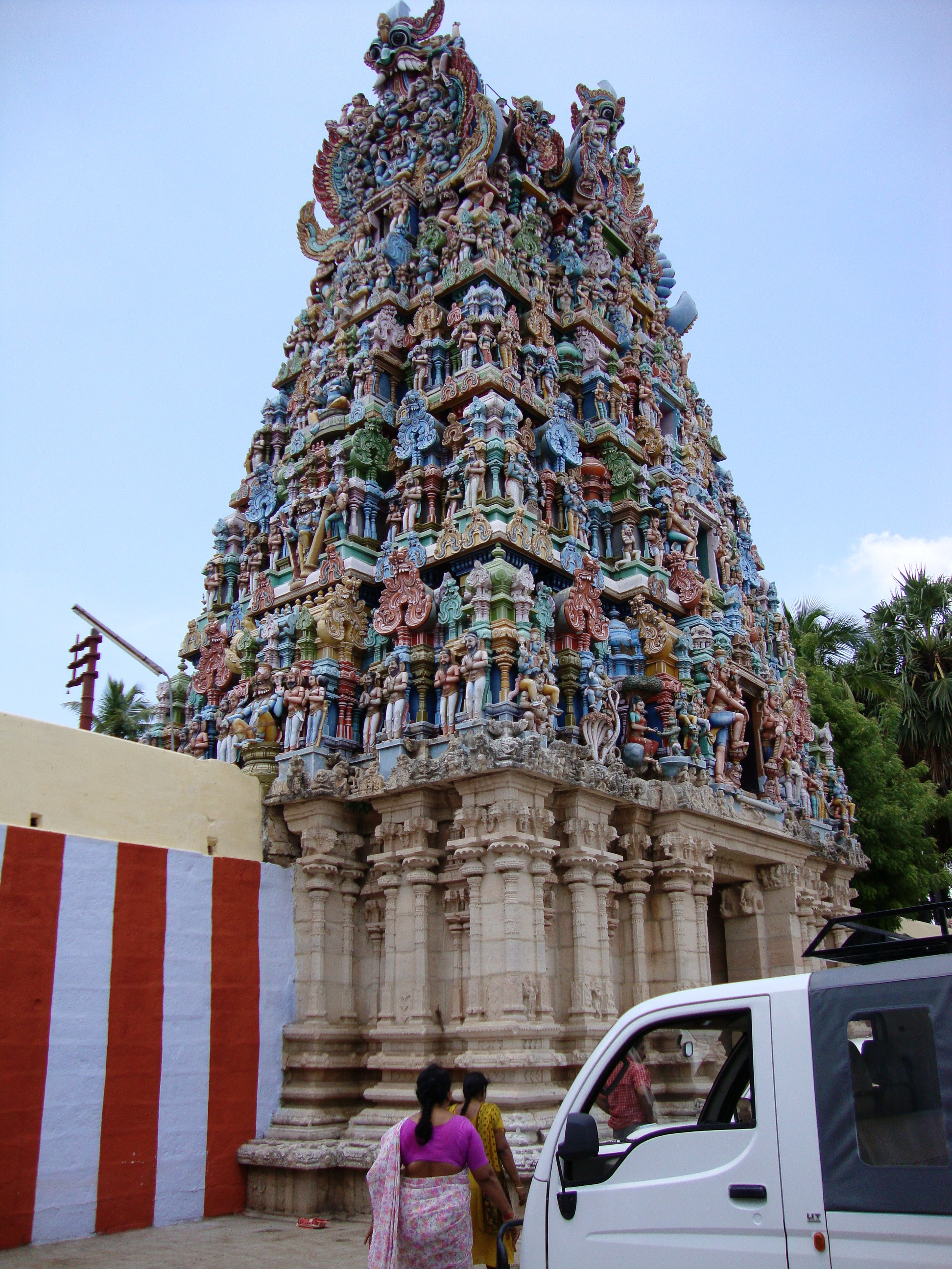 Chandra Bhagawan Temple (Moon)-Tiruvarnamangai,Naththam