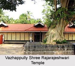 Sri Saraswathi Sannadhi-Rajarajeshwari Temple-Vazhapully