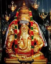 Periya Pillayar Sannadhi (Big Ganesh)-Sri Mahalingeshwarar