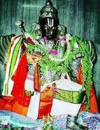 Sri Garudaalwar Sannadhi-Sringeri Sharadamba Temple-Sringeri,